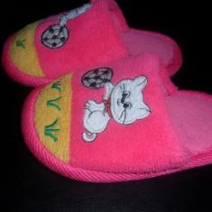 Papuci camera masura 26 - Papuci copii, Fete, Roz
