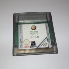 Joc Nintendo Gameboy Color - Roland Garros French Open 2000 - Jocuri Game Boy Altele, Actiune, Toate varstele, Single player