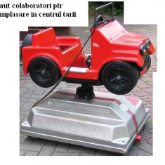 Masinute electrice - kiddy rides- masinute divertisment - Masinuta electrica copii Altele, 6-8 ani, Unisex, Rosu