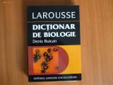 h2 Dictionar De Biologie Larousse - Denis Buican