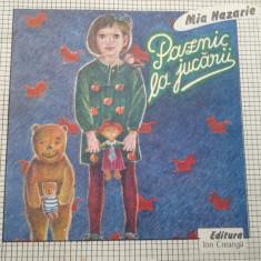 PAZNIC LA JUCARII - Mia Nazarie - Carte poezie copii