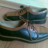 Pantofi din piele marimea 35, sunt noi! - Pantof dama, Culoare: Maro, Maro