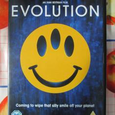 EVOLUTION  - film COMEDIE SF DVD - cu David DUCHOVNY (original din Anglia, in stare impecabila!!!)
