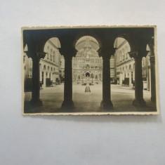Carte postala Catedrala Greceasca Interior Sibiu 1942