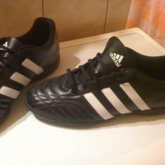 Ghete fotbal Adidas - teren sintetic, Marime: 47, Negru, Barbati