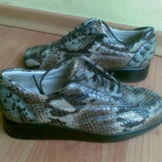Pantofi din piele firma Gabor marimea 35, 5, sunt noi! - Pantof dama Gabor, Culoare: Maro, Maro, Marime: 36.5, Cu talpa joasa