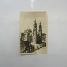 Carte postala Catedrala Greceasca Sibiu 1942