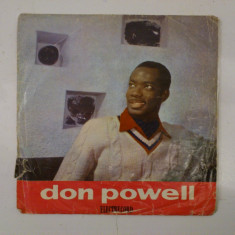 Disc vinil vinyl pick-up MIC Electrecord DON POWELL Il Treno Gli Amore 1967 45-EDC 832  rar vechi colectie