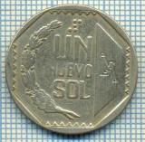 2498 MONEDA  - PERU  - 1 NUEVO SOL  - anul 1994 -starea care se vede