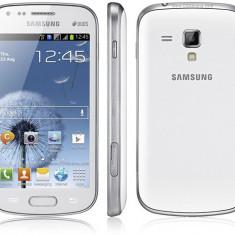 Schimb Samsung Galaxy S Duos - Telefon mobil Samsung Galaxy S Duos, Alb, Neblocat