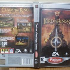 The Lord of the Rings: Tactics (PSP) (ALVio) + sute de alte jocuri psp (VAND / SCHIMB ), Actiune, 12+