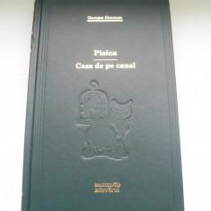 PISICA / CASA DE PE CANAL GEORGES SIMENON BIBLIOTECA ADEVARUL NR.35 - Roman, Anul publicarii: 2009