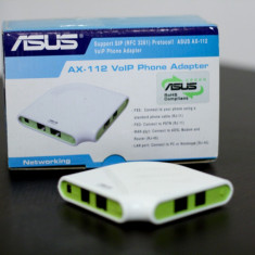 Asus AX-112 VoIP Phone Adapter