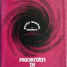 Prioritati in domeniul energiei - vol. II - Carti Energetica