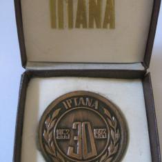 RARA! MEDALIE IPTANA 30 ANI(1953-1983) - Medalii Romania