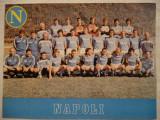 Foto echipa de fotbal NAPOLI  `88 cu Maradona