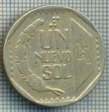 2501 MONEDA  - PERU  - 1 NUEVO SOL  - anul 1996 -starea care se vede