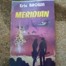 Eric Brown Meridian SF carte aventura 1992 hobby - Carte SF