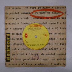 Disc vinil vinyl pick-up MIC Electrecord Alex Imre Gica Petrescu Gigi Marga Trio Caban Mersul Trenurilor EDC 365 - Muzica Pop