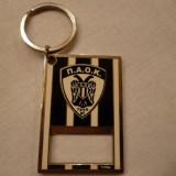 Breloc metalic - fotbal PAOK SALONIC