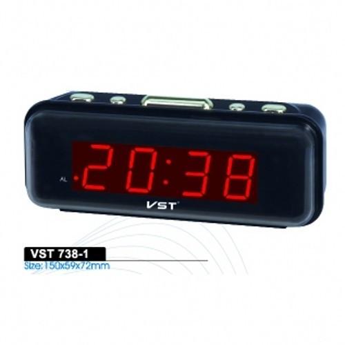 Ceas de Birou cu Alarma VST-738 FACTURA SI GARANTIE 12 luni foto mare