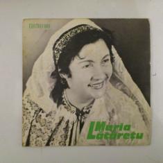 Disc vinil vinyl pick-up MIC Electrecord MARIA LATARETU Se Cearta Bradu Cu Plopu EPC 210 rar vechi colectie