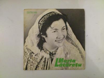 Disc vinil vinyl pick-up MIC Electrecord MARIA LATARETU Se Cearta Bradu Cu Plopu EPC 210 rar vechi colectie foto