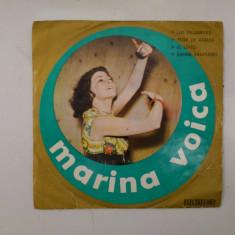 Disc vinil vinyl pick-up MIC Electrecord MARINA VOICA Las Palabritas Flor De Azalea El Gato 1972 45-EDC 10.245 rar vechi colectie