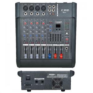 MIXER AUDIO PROFESIONAL AMPLIFICAT,EGALIZATOR,LCD,EFECTE DSP,MP3 PLAYER INCLUS.