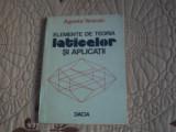 Elemente de teoria laticelor si aplicatii - A. Vescan