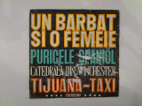 Disc vinil vinyl pick-up MIC Electrecord ORCHESTRA ELECTRECORD Un Barbat Si O Femeie Puricele Spaniol 1968 45-EDC 954 rar vechi colectie