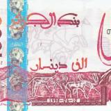 Bancnota Algeria 1.000 Dinari 1998 - P142b UNC (valoare catalog $35) - bancnota africa
