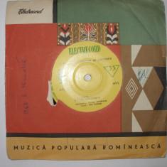 DISC VINIL ELECTRECORD ROMANTE PE VERSURI DE EMINESCU