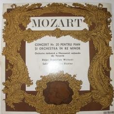 DISC VINIL ELECTRECORD MOZART - Muzica Opera