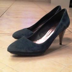 Pantofi ZARA - Pantof dama Zara, Culoare: Bleumarin, Marime: 41, Bleumarin