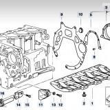 Piese motor BMW 320d E46 136 cp : bloc , pistoane , biele , etc.