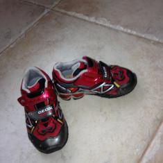 Adidasi geox 23 - Adidasi copii Geox, Culoare: Negru, Baieti