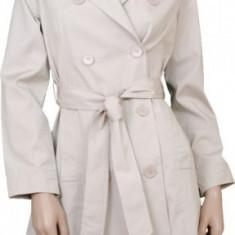 Trench coat de dama nou marime S - Trench dama, Marime: S, Culoare: Bej, S, Bej
