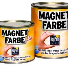 MAGNET PAINT vopsea magnetica 1LITRU. Pe lemn, zid, carton, ceramica!La gradi, office, garaj, magazin, acasa, scoala, trainig, hotel... etc