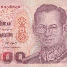 THAILANDA 100 Baht 2011 - bancnota asia