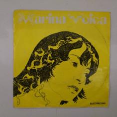 Disc vinil vinyl pick-up MIC Electrecord MARINA VOICA O Romantica Fata Mama Zilele 1973 45-EDC 10.387 rar vechi colectie