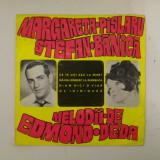 Disc vinil vinyl pick-up MIC Electrecord MARGARETA PISLARU STEFAN BANICA Melodii De Edmond Deda Sile Diniciu Of Inimioara 1969 45-EDC 10.051 rar vechi
