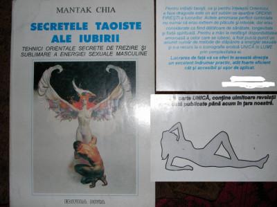 SECRETELE TAOISTE ALE IUBIRII - Mantak Chia foto