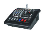 MIXER AUDIO PROFESIONAL AMPLIFICAT,EGALIZATOR,LCD,EFECTE DSP,MP3 PLAYER INCLUS.