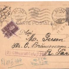 CPI (B2911) CARTE POSTALA, CIRCULATA, 17.V.1944, STAMPILE, TIMBRE, CENZURAT