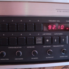 Revox B780 Microcomputer Controlled Synthesizer FM Tuner Amplifier - Amplificator audio Technics, 41-80W