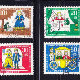 Timbre GERMANIA 1966 - BASME DE FRATII GRIMM - Timbre straine