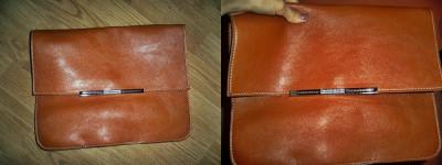 Geanta/ Poseta de umar pentru dame(poate fi purtata si ca geanta plic), imitatie de piele foto