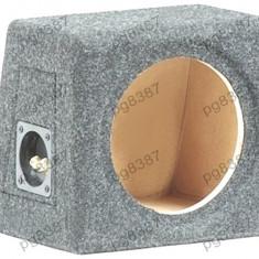 Carcasa difuzor, subwoofer, MDF, capacitate 8L, pentru difuzor de 200mm. - 000869
