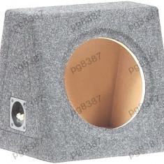 Carcasa difuzor, subwoofer, MDF, capacitate 20L, pentru difuzor de 250mm.- 000871